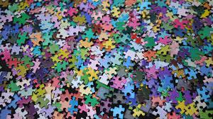 color spectrum puzzle 1000 colours rainbow cmyk gamut jigsaw puzzle by clemens habicht