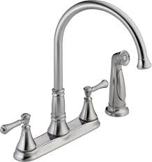 delta kitchen faucet warranty faucet 2497lf ar in arctic stainless by delta