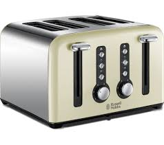4 Slice Toaster And Kettle Set Buy Russell Hobbs Windsor 22830 4 Slice Toaster Cream Free