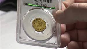 rare glass penny up for auction at fort lauderdale coin