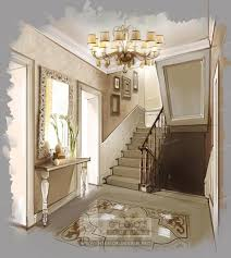 interior design of house and apartment hallways hallway