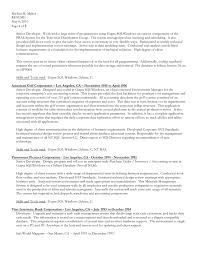 Sample Nanny Resume by Resumes Download Ms Word Format