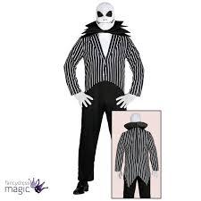 mens jack skellington skeleton halloween nightmare christmas fancy