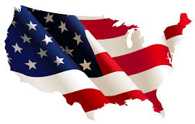 Us Flag 1860 Clipart Polyprismatic Tiled United States Map With Background Usa