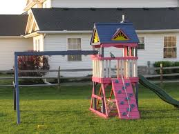 the coolest swingset on the block creative kids play new house