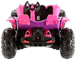 dune jeep power wheels dune racer 12 volt battery powered ride on pink