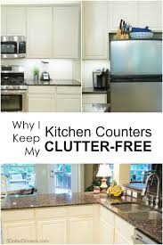 why i keep my kitchen counters clutter free