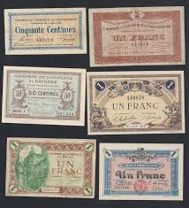 chambre de commerce carcassonne collection of 42 diferent chambres de commerce banknotes