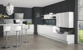 cuisine blanche mur gris cuisine blanche mur gris meilleur idées de conception de maison