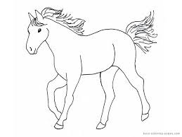 horse coloring pages print color clipart free clipart