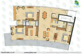 typical floor plan 3 bedroom typical floor plan of oceanscape al reem island