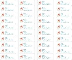 printable return address labels free free printable holiday