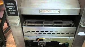 Conveyor Belt Toaster Oven Toastmaster Conveyor Toaster Youtube
