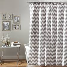 Pink And Grey Shower Curtain by Bath