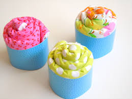 burp cloth cupcake tutorial u create