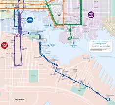baltimore routes map introducing the route charm city circulator