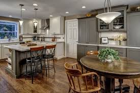kitchen with painted cabinets rockford contemporary cabinet door cliqstudios