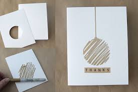 easy diy thank you cards with metallic sharpies sharpies