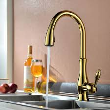 kitchen faucets brass moen polished brass kitchen faucets