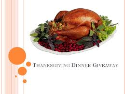 ocala post thanksgiving dinner giveaway for two families 2013