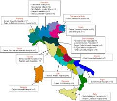 Modena Italy Map by Erythropoietin In Amyotrophic Lateral Sclerosis A Multicentre