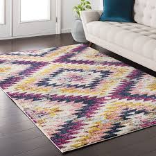 Purple Area Rugs Mistana Purple Area Rug Reviews Wayfair
