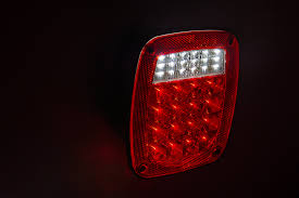 universal led tail lights multi function led truck and trailer lights combo box universal
