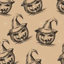 cartoon halloween backgrounds halloween background with pumpkins yand draw style royalty free