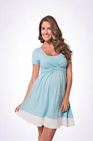 baby blue maternity and breastfeeding dress u2013 lonzi u0026bean maternity
