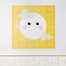 Baby Nursery Wall Decal by You Are My Sunshine Poster Decal The Land Of Nod