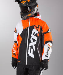 fxr motocross gear fxr revo x snowmobile jacket ridestore com