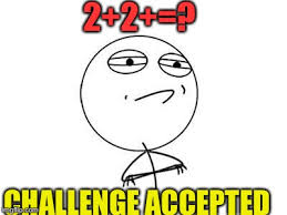 Chalenge Accepted Meme - challenge accepted rage face meme imgflip