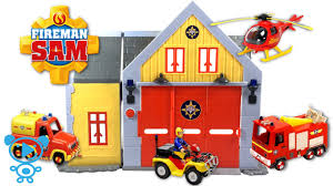 fireman sam toys fire station fireman sam u0027s vehicles review