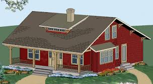 Frame House Plans The Craftsman House Plan A Small Timber Frame Home Post And