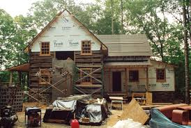 Arched Cabins by An Owner Built Log Cabin Part 2 Handmade Houses With Noah