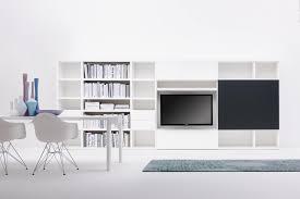 Contemporary Tv Table Contemporary Tv Wall Unit Lacquered Wood Scenaperta Silenia
