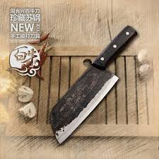 forged kitchen knives yamy ck forged clip steel slicing knife cooking tools