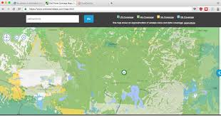 Sprint Coverage Map Michigan by No Service In Yellowstone National Park And Surrounding Areas With