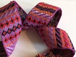 woven ribbon woven jacquard stitched ribbon