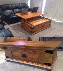 lift top trunk coffee table diy turner lift top coffee table home design garden