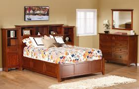 Full Size Bed With Mattress Included Bedroom Queen Storage Bed With Bookcase Headboard Full Size