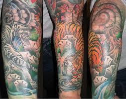 Half Forearm Sleeve - painting arts 30 lovely forearm half sleeve designs