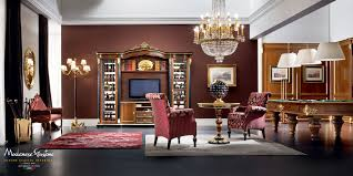 handmade living room in classic style completely customizable