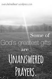 unanswered prayers overwhelmed