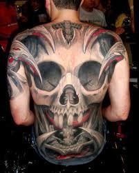 tattooz designs tribal back tattoos tribal skull back designs