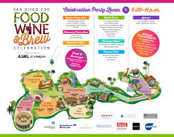 Live Time Zone Map by Zoo Food Wine And Brew Celebration