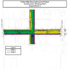department of public works fulton street reconstruction project
