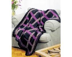 woven ribbon woven ribbon afghan crochet lion brand yarn