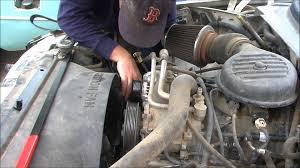Dodge Dakota Truck Tool Box - 1998 dodge dakota replacing the serpentine belt youtube