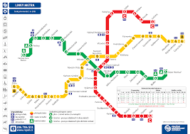Budapest Metro Map by Prague Metro Map Prague Map